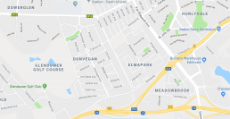 Screenshot of Dowerglen and Edenvale on Google Maps